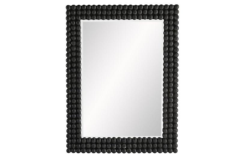 Paxton Wall Mirror, Black