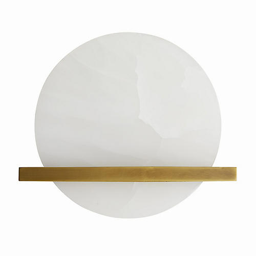 Savion Sconce, White