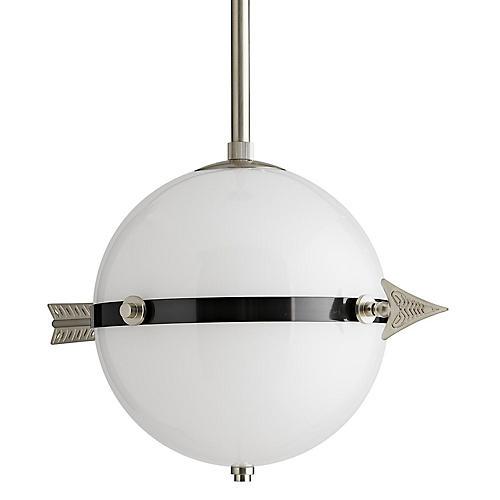 Celestial Pendant, Vintage Silver