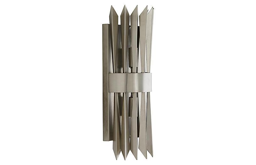 Waldorf Sconce, Vintage Silver