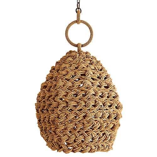 Saxon Pendant, Natural