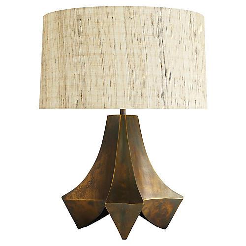 Stelling Table Lamp, Burnt Umber