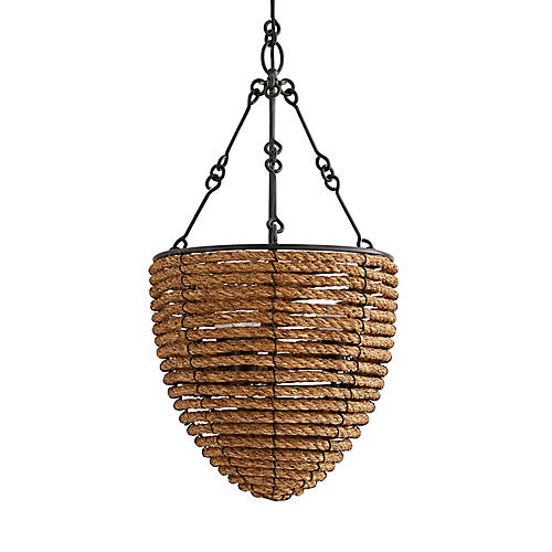 Abaco Pendant, Natural