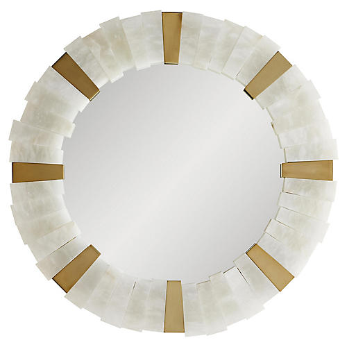 Von-Webber Wall Mirror, White