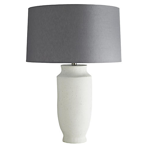 Paloma Table Lamp, White Sand