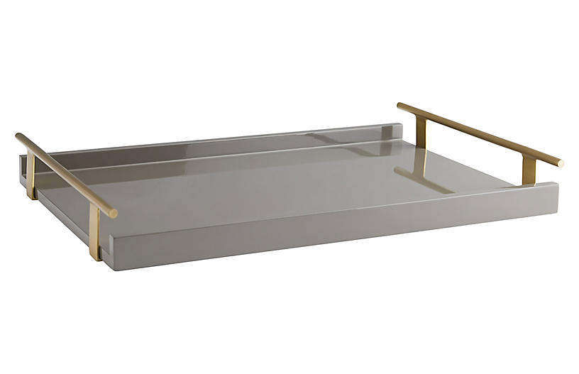 Archer Tray, Gray