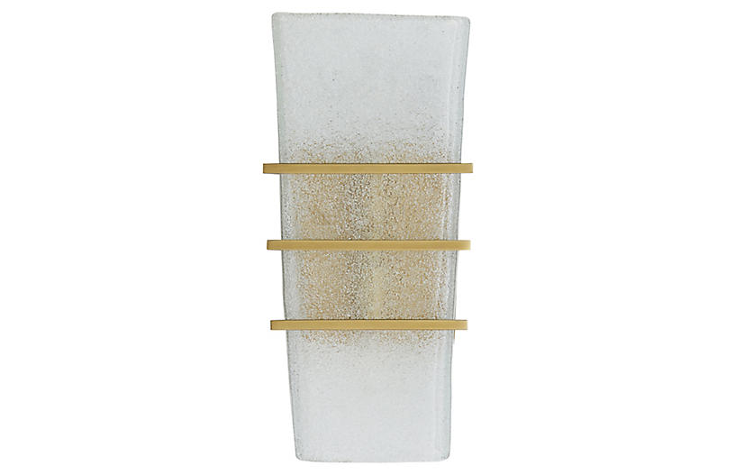 Coleman Sconce, Clear Organic