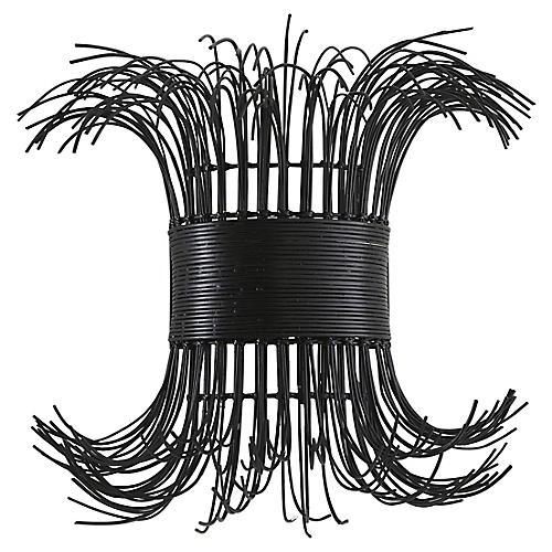 Filamento Sconce, Black