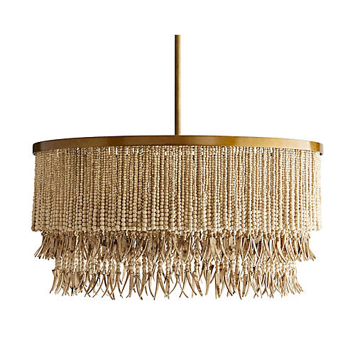 Baja Chandelier, Natural