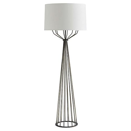 Bastille Floor Lamp, Graphite