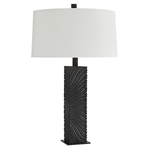 Burgan Table Lamp, Umber