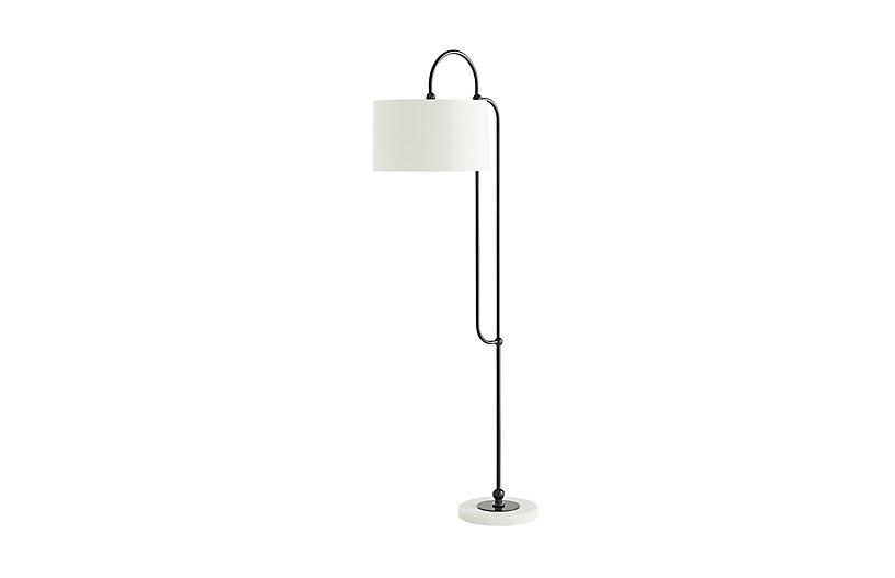 Dorchester Floor Lamp, Bronze