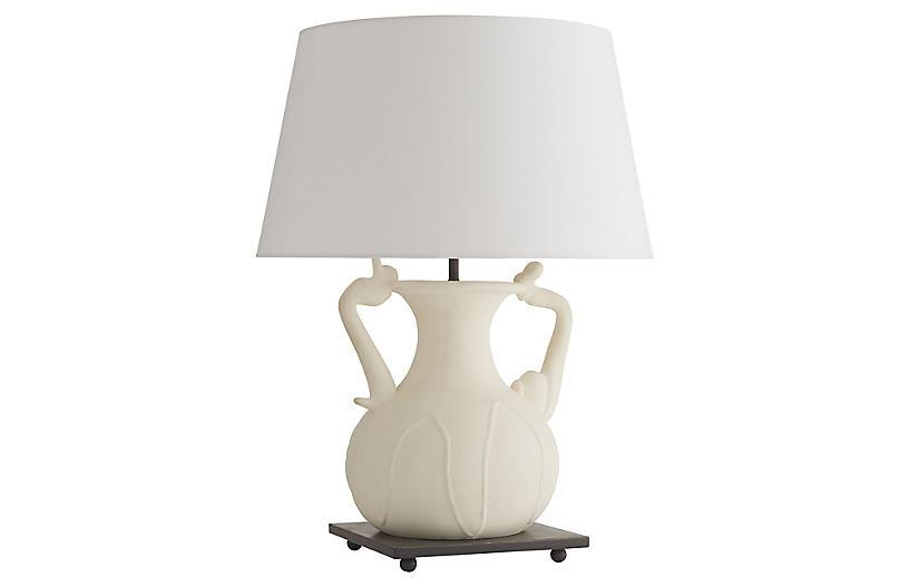 Positano Table Lamp, White