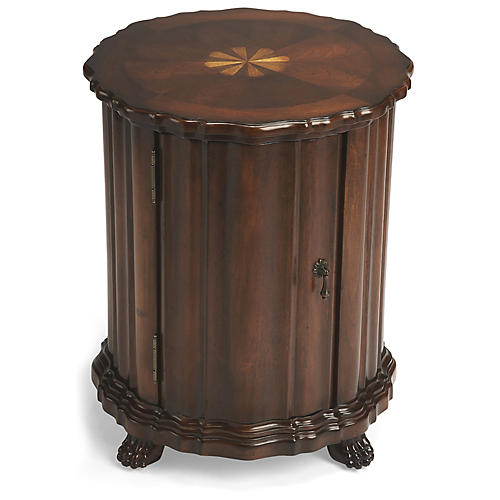 McCormick Side Table, Plantation Cherry