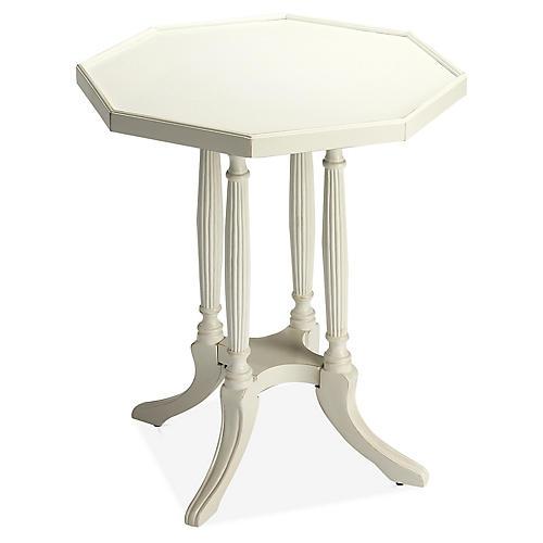Palana Side Table, White
