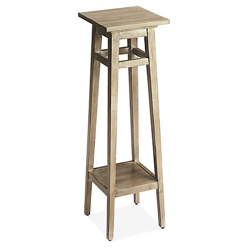 Arata Side Table, Graywash