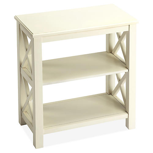 Minson Bookcase, White
