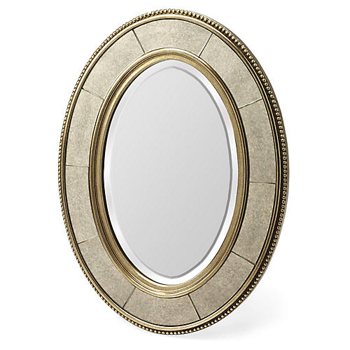 Flintlock Wall Mirror, Champagne