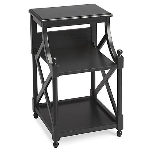 Cline Side Table, Black