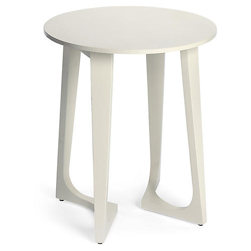 Gail Side Table, White