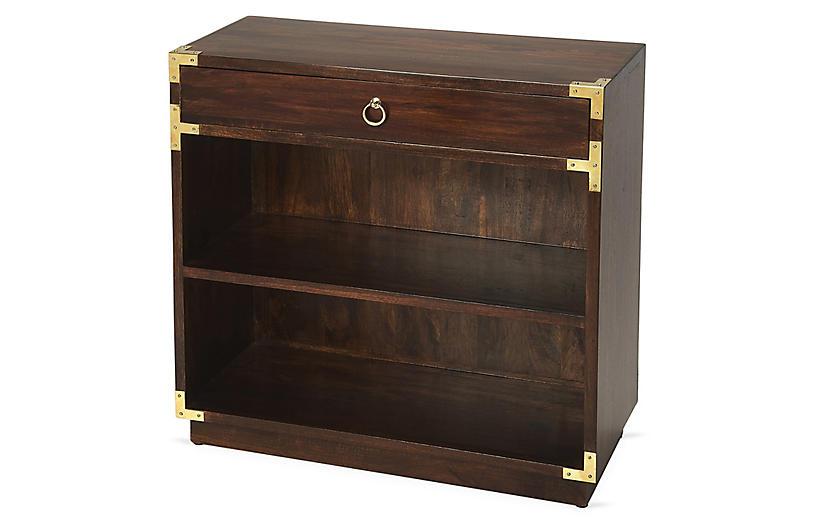 Hilda Bookcase, Dark Brown
