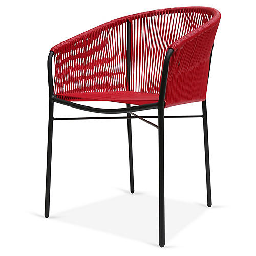 Anais Armchair, Red