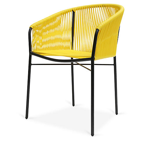 Anais Armchair, Yellow