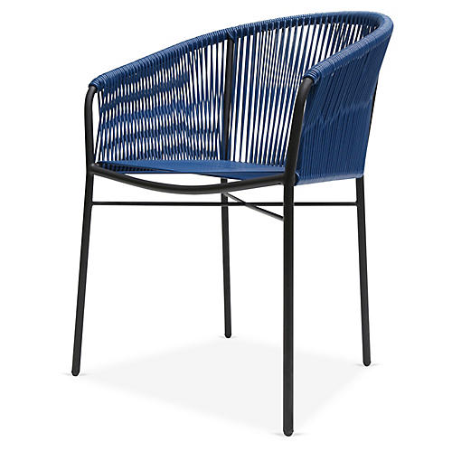 Anais Armchair, Navy Blue