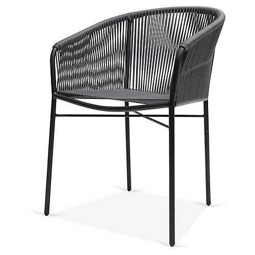 Anais Armchair, Stone Gray