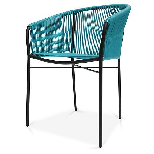 Anais Armchair, Turquoise
