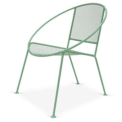 Ixtapa Lounge Chair, Olive Green