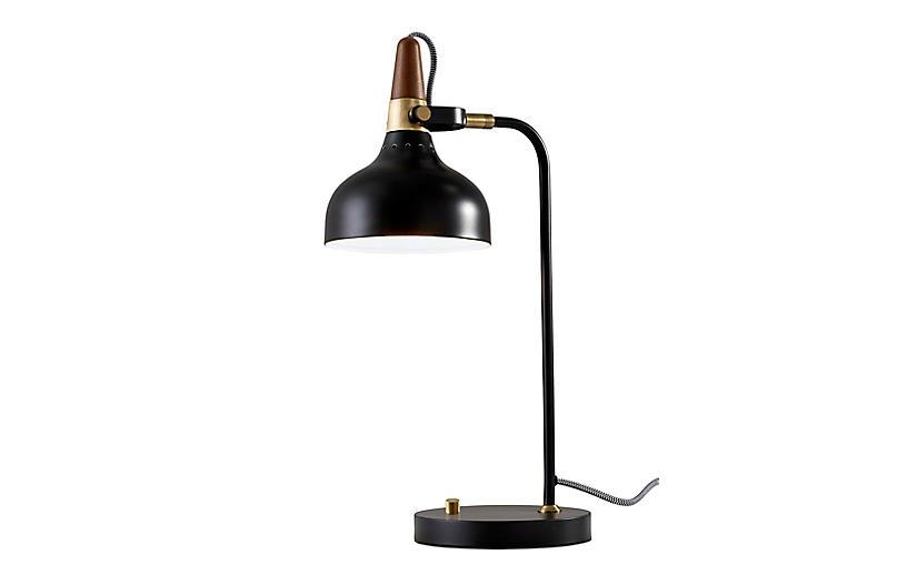 Weston Desk Lamp, Black