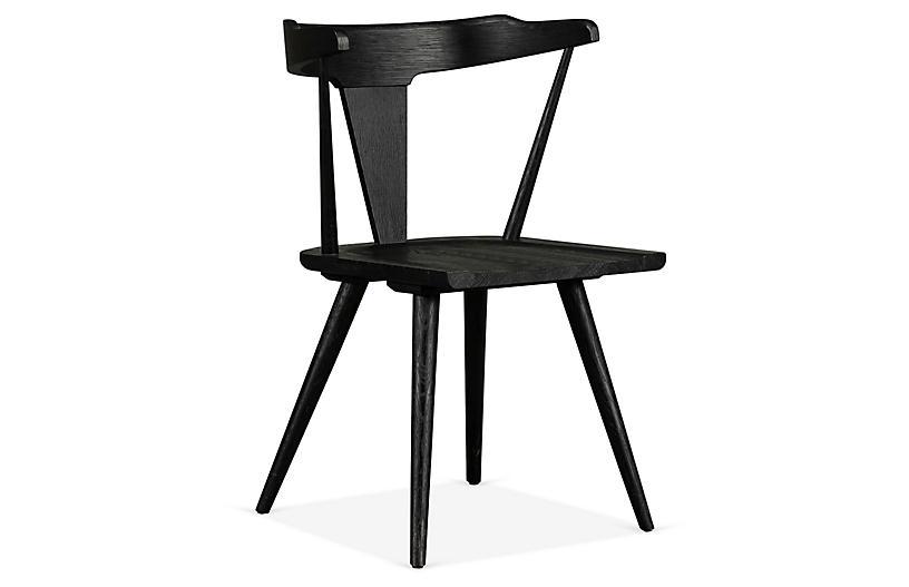Maddox Side Chair, Black