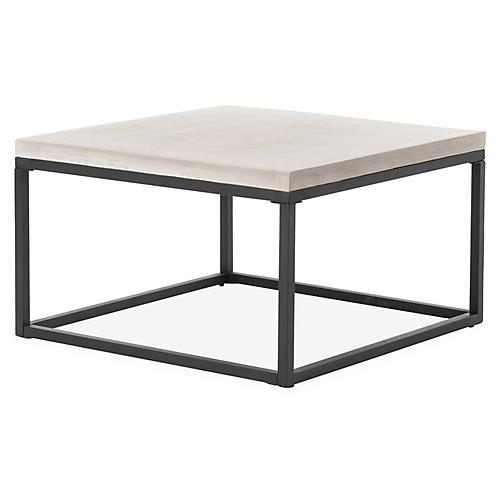 "Maximus 30"" Coffee Table, Black"