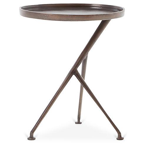 Schmidt Accent Table, Antique Rust