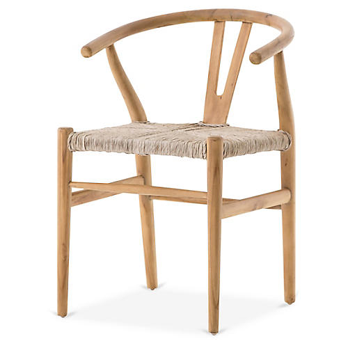 Muestra Dining Chair, Natural