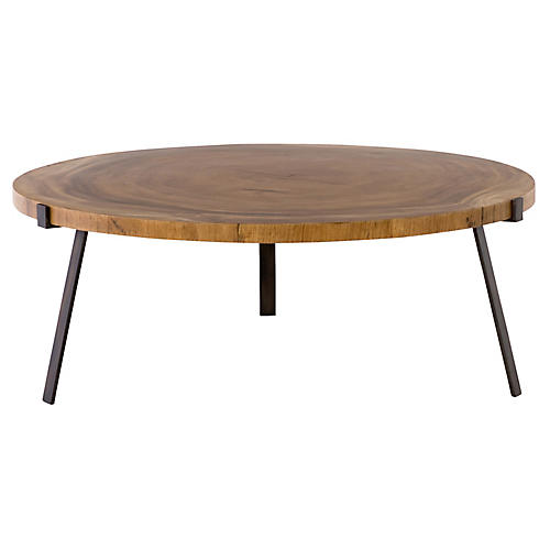 Newport Coffee Table, Natural