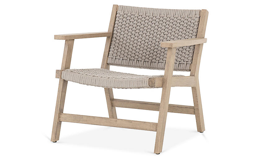 Asher Outdoor Chair, Brown