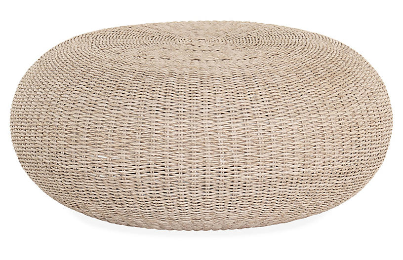 Myles Outdoor Coffee Table, Natural