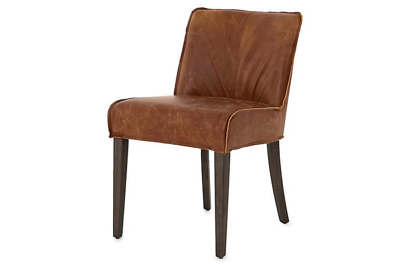 Ezra Dining Chair, Sienna Chestnut