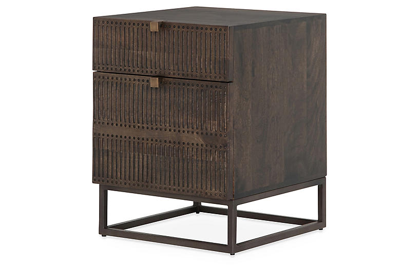Margarita Nightstand, Brown