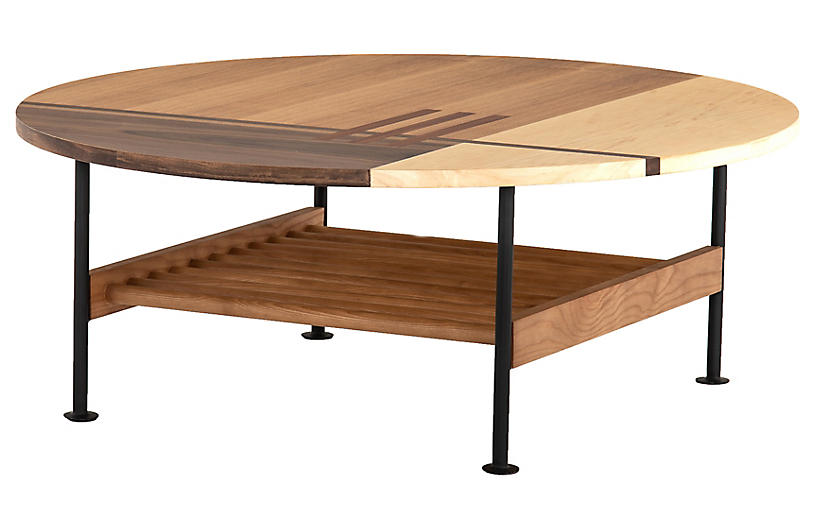 Roawn Coffee Table, Toasted Ash