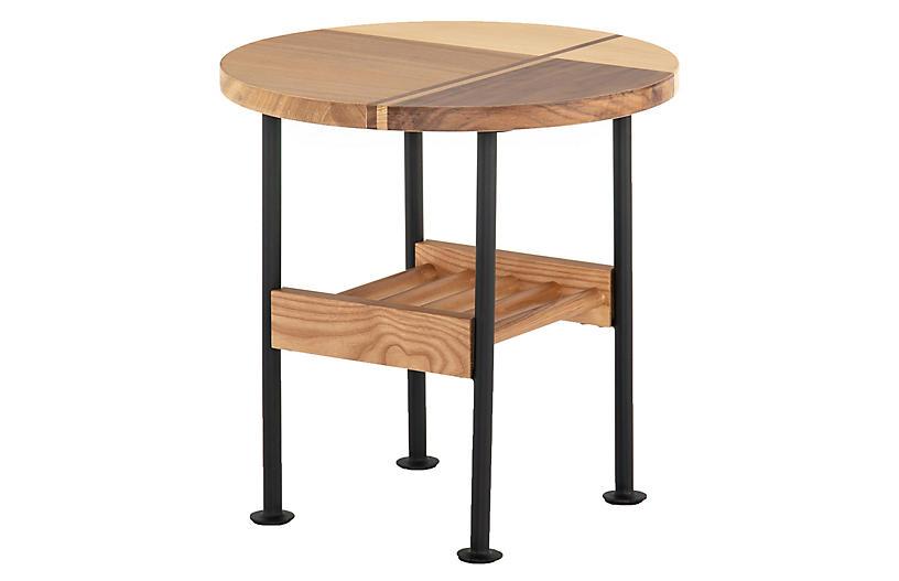 Rowan End Table, Light Maple