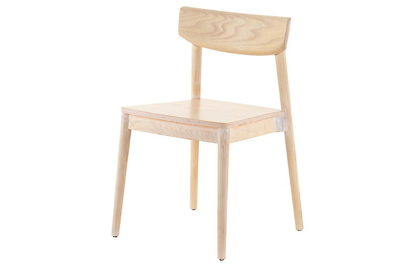 Brenna Dining Chair, Natural