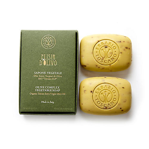 2-Pc Soap Set, Olive Complex