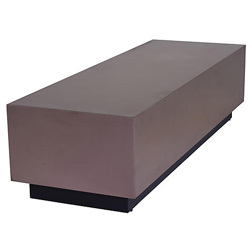 Asher Coffee Table, Copper