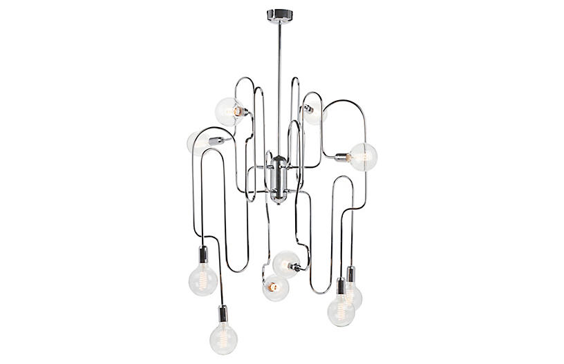 Clark Chandelier - Chrome