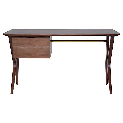 Karlo Desk, Walnut