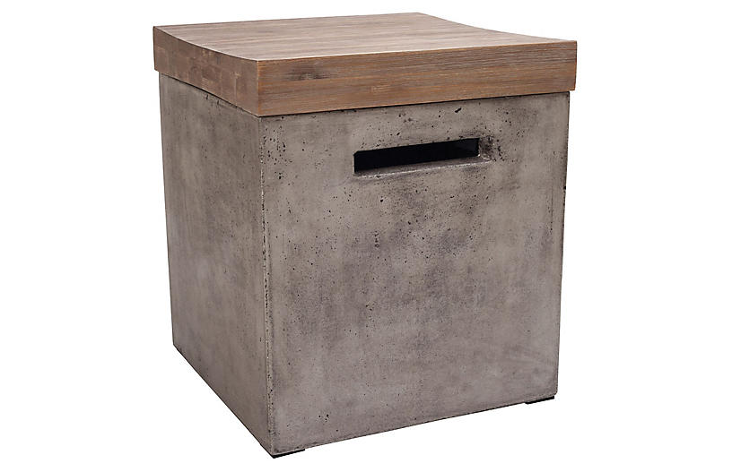 Midwest Side Table, Gray