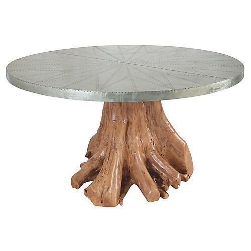 Big Sky Teak Root Dining Table, Natural